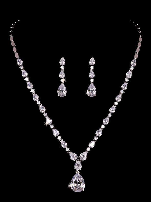 NL2154 Bridal Necklace Set