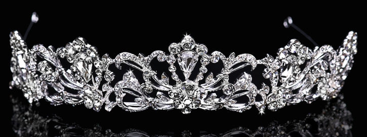 En Vogue T1512 - [Bridal Tiara T1512] - Wedding Accessories - Bridal Closet - Bridal Dresses and Accessories