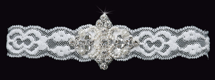 En Vogue GR1486 - [Bridal Garter GR1486] - Wedding Accessories - Bridal Closet - Bridal Dresses and Accessories