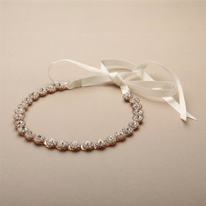 Mariell Headband 4455HB - Utah accessories - wedding headbands - bridal gowns - bridal jewelry - maggie sottero utah - sottero and midgley