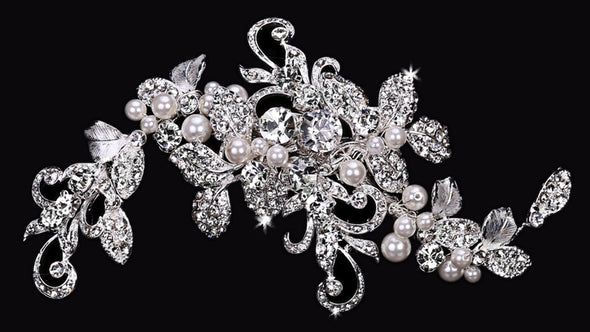 En Vogue HC1634 - [Bridal Hair Comb HC1634] - Wedding Accessories - Bridal Closet - Bridal Dresses and Accessories