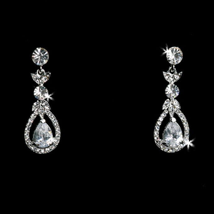 En Vogue E1297 - [Bridal Earrings E1297] - Wedding Accessories - Bridal Closet - Bridal Dresses and Accessories