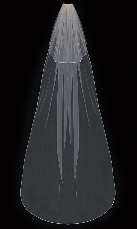 V303C Cathedral Veil - Utah wedding accessories - Draper Bridal Store