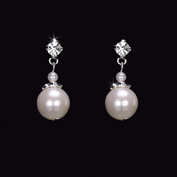 En Vogue E1560 - [Bridal Earrings E1560] - Wedding Accessories - Bridal Closet - Bridal Dresses and Accessories