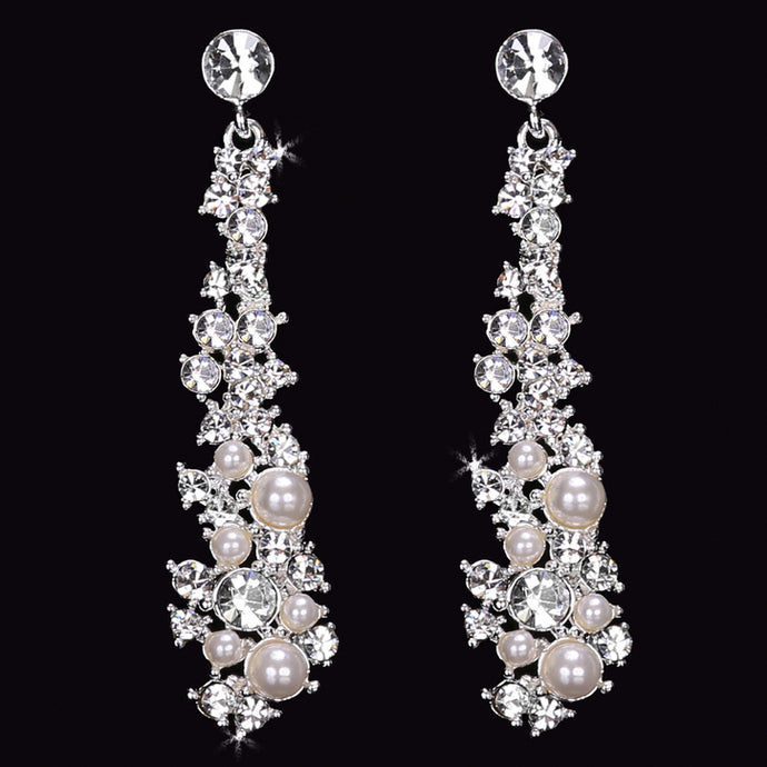 En Vogue E1568 - [Bridal Earrings E1568] - Wedding Accessories - Bridal Closet - Bridal Dresses and Accessories