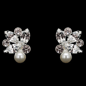 En Vogue E1869 - [Bridal Earrings E1869] - Wedding Accessories - Bridal Closet - Bridal Dresses and Accessories