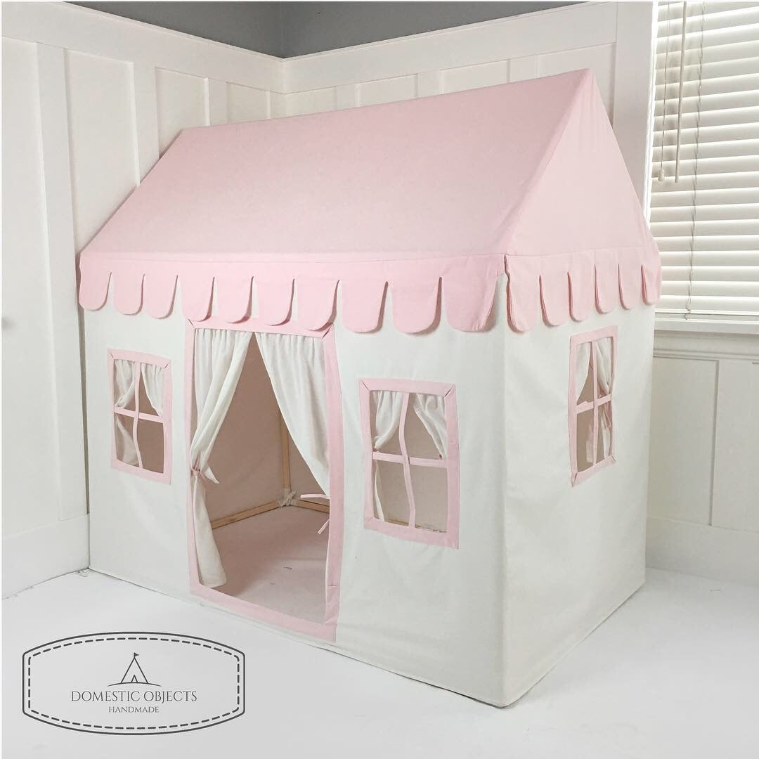 Set Up of the Domestic Objects Pink Playhouse