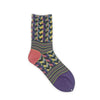 WOMENS・Rhythm block socks・ AYM007/2002/N