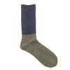 MENS・Two tone color lib knit socks・AYM296A03K
