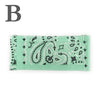 Washable Bandana Pleated Face Mask - Mint