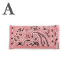 Washable Bandana Pleated Face Mask - Pink