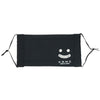 Washable Smile Face Mask - Black