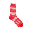 WOMENS・Basket Lunch socks two tone・AYM002/BLCS/N