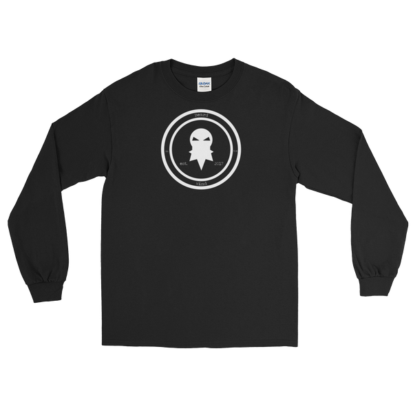 Beard In The Wind - Long Sleeve T-Shirt: Original Logo