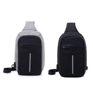 Cross body Chest bag w/ USB Charger