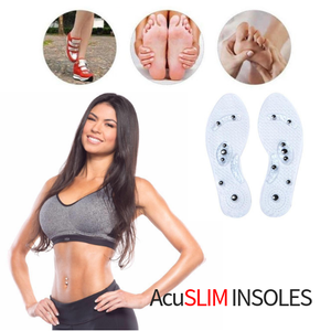AcuSLIM INSOLES - Acupressure Magnetic Weightloss Insoles