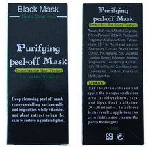 Load image into Gallery viewer, Deep Cleansing Charcoal Peel-Off Mask