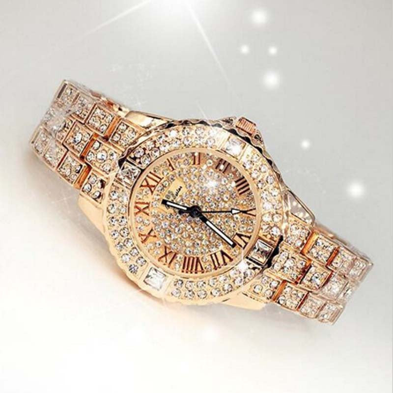 Rhinestone Diamond Majestic Watch