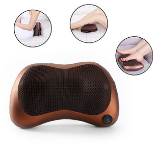 Electric Massage Pillow with Heating Kneading Function