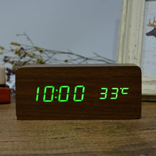 Load image into Gallery viewer, Vintage Style LED Alarm Clock