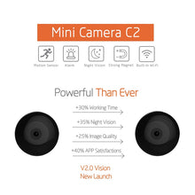 Load image into Gallery viewer, Wearable Mini Camera HD Wearable w/ Motion Sensor