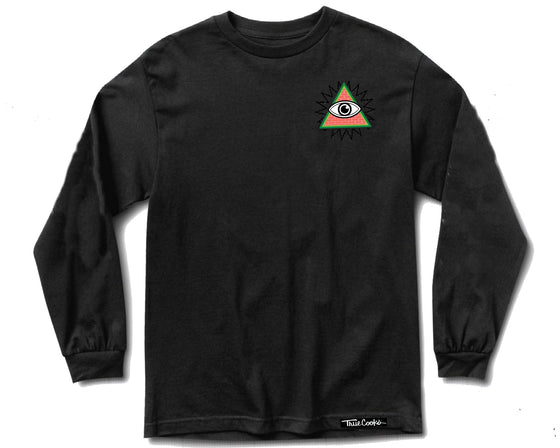Secret Societies Long sleeve black front