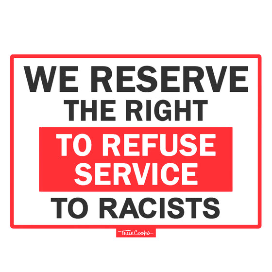 Refuse Service Sticker (2-pack)