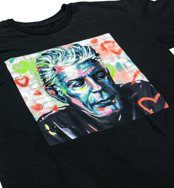 Bourdain Tribute Tee