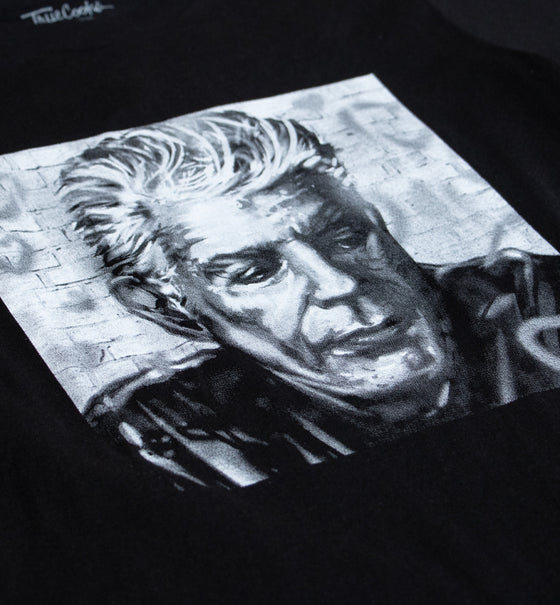 Bourdain Tribute Tee 2.0 - Black & White