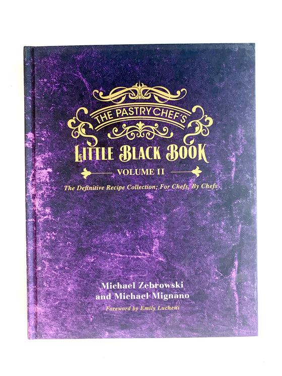 Pastry Chef's Little Black Book 2