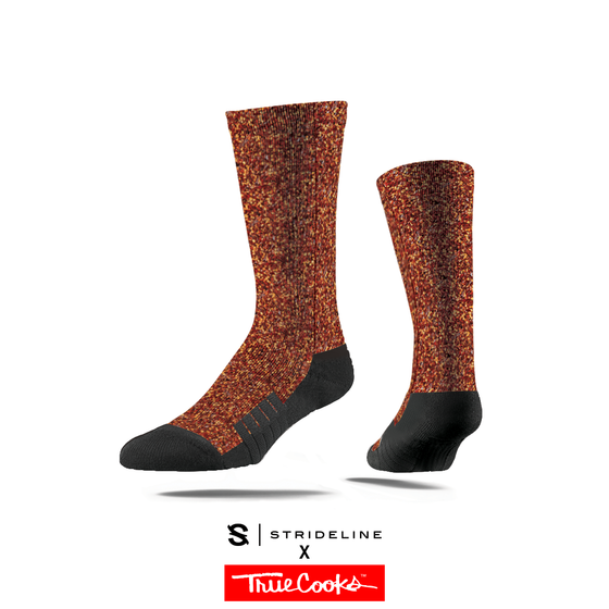 Trucooks x Spiceology Red Pepper socks