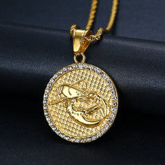 Men's Cancer Gold/Silver (The crap) necklace