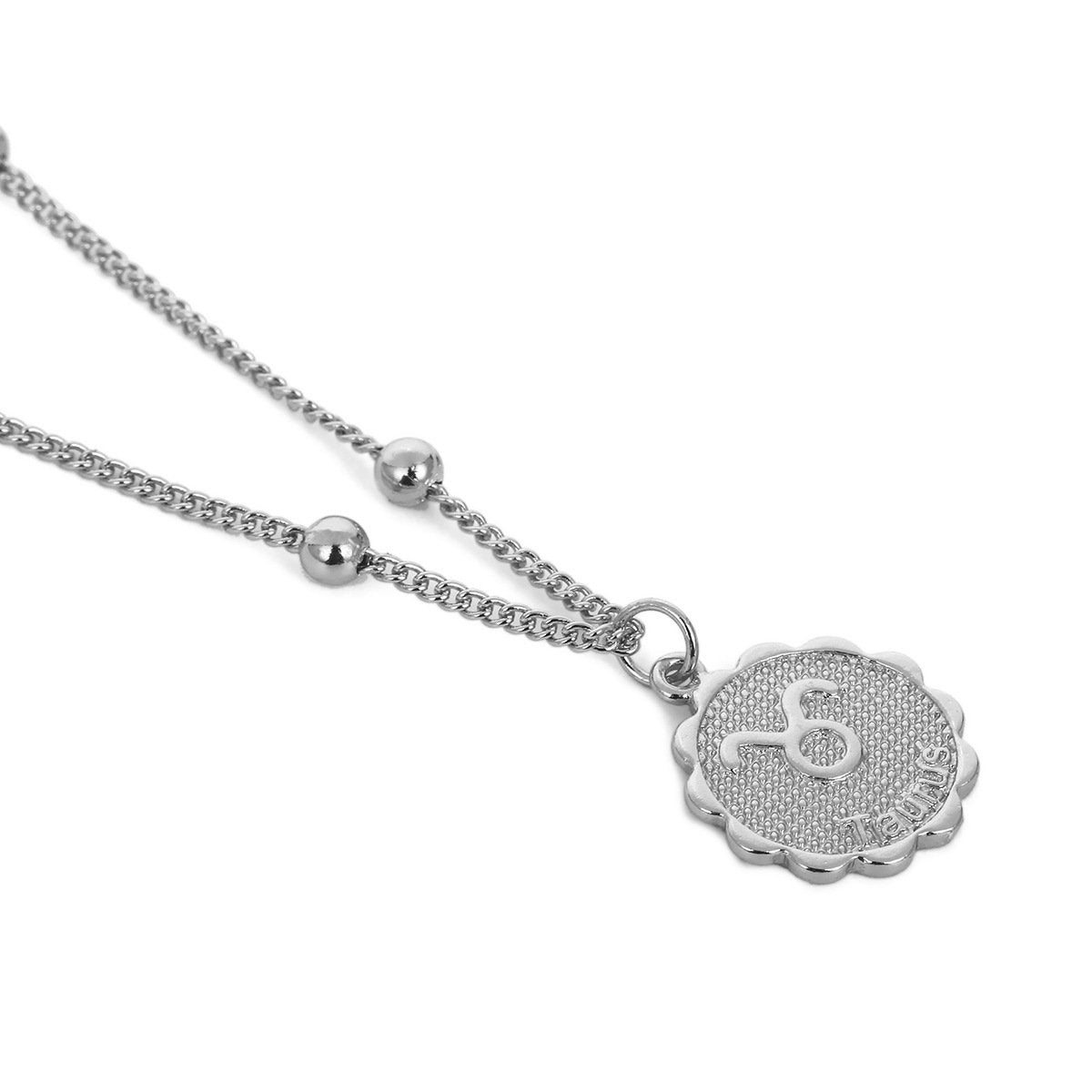 Taurus zocoin necklace