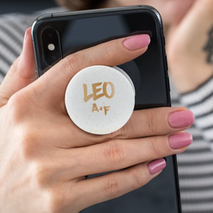 Leo AF White Grip for Phones and Tablets