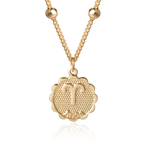 Aries zocoin necklace