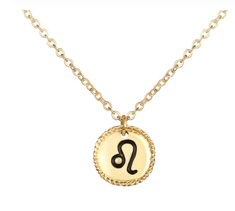 Leo goldie necklace