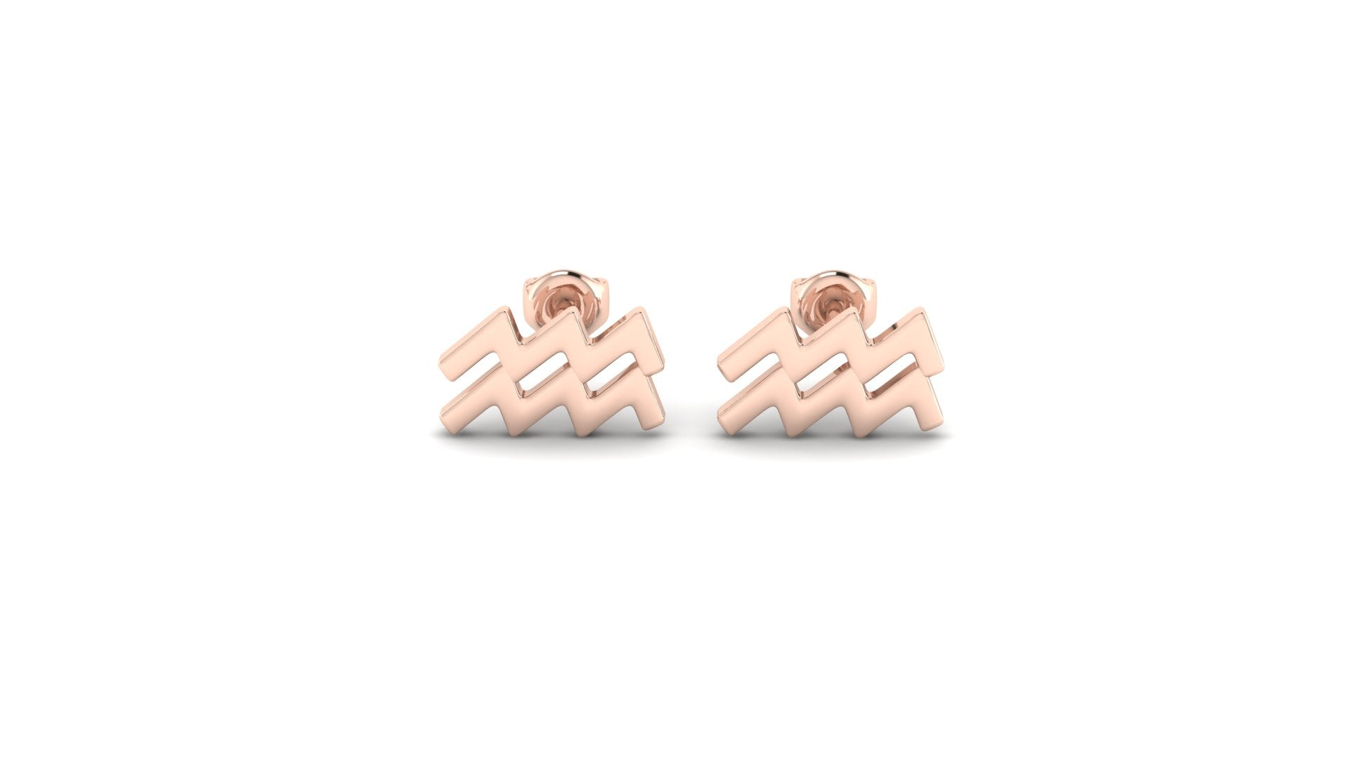 Aquarius Zostud Earrings
