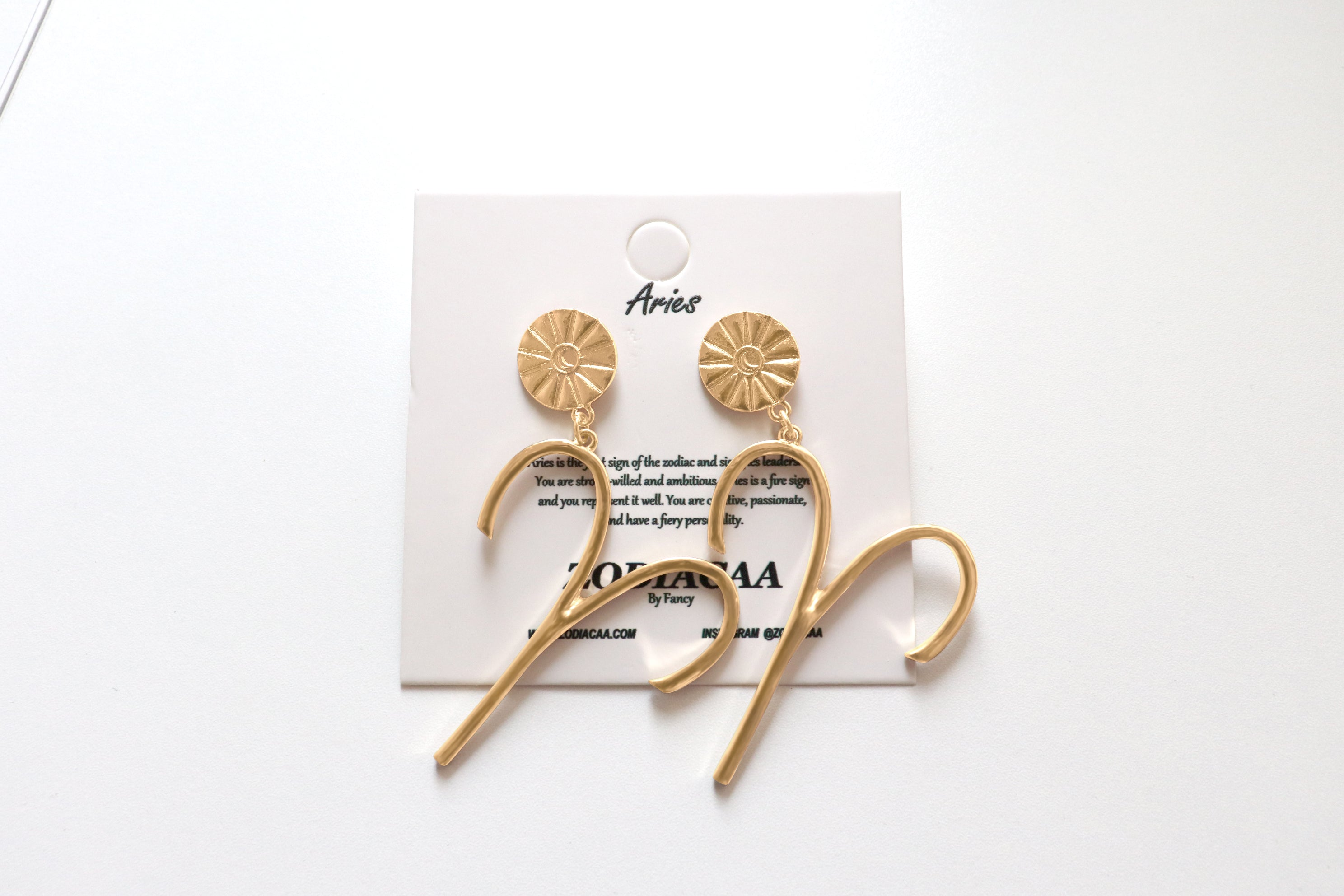 Aries XL earrings