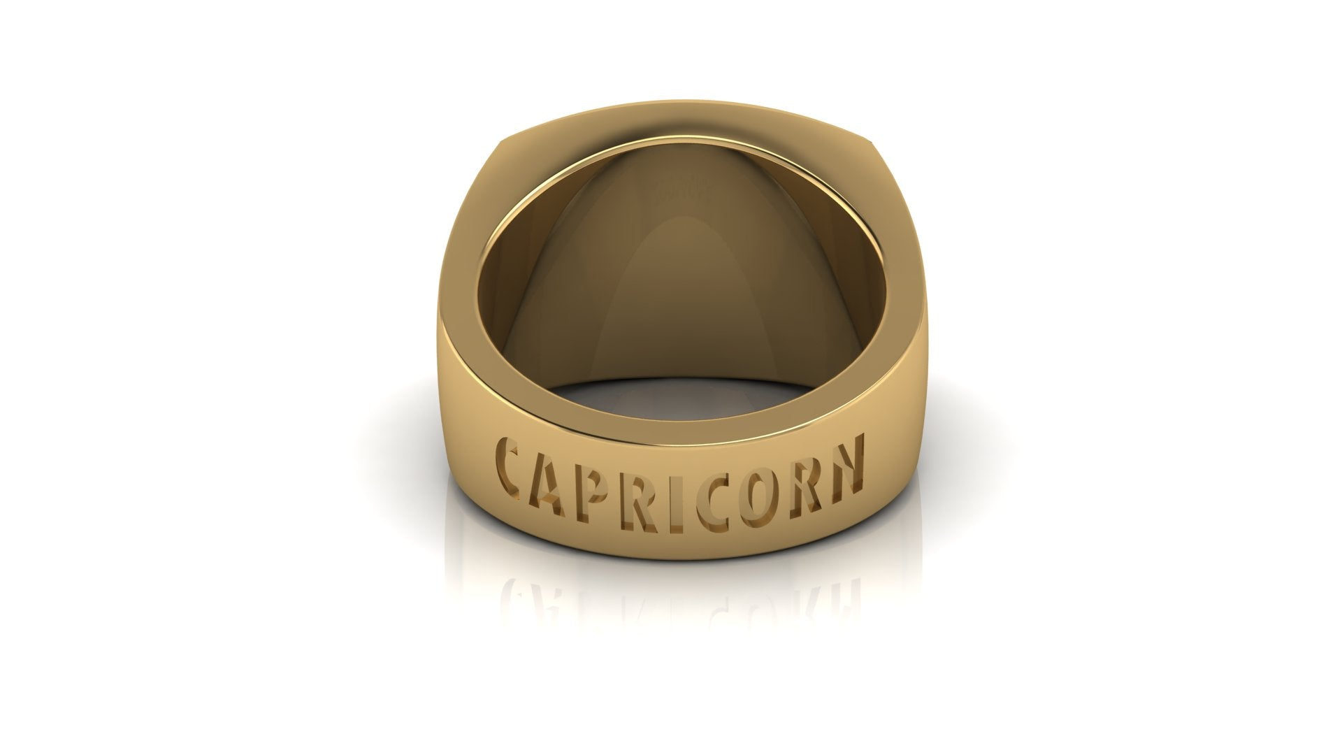 Capricorn Gold&Bold mens ring