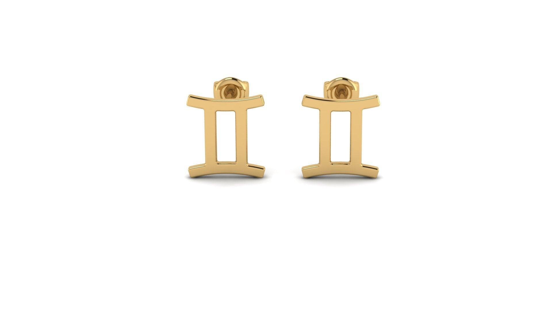 GEMINI ZOSTUD EARRINGS