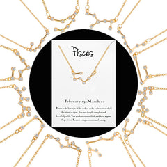 Select your sign-'When Stars Align' Constellation Necklace