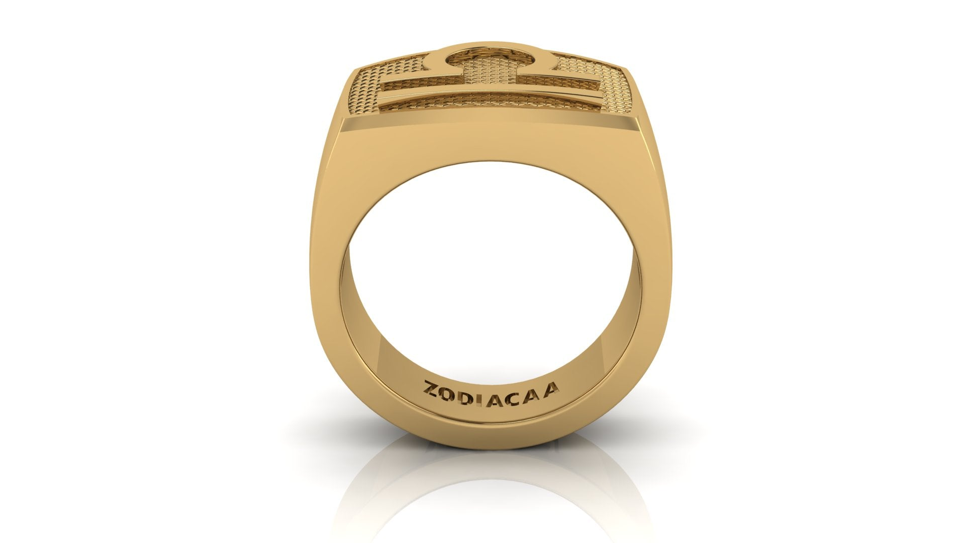 Libra Gold&Bold mens ring
