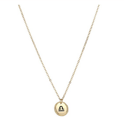 Libra goldie necklace