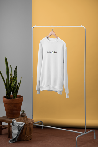 Cancer White Sweater