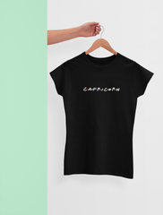 CAPRICORN BLACK T-SHIRT
