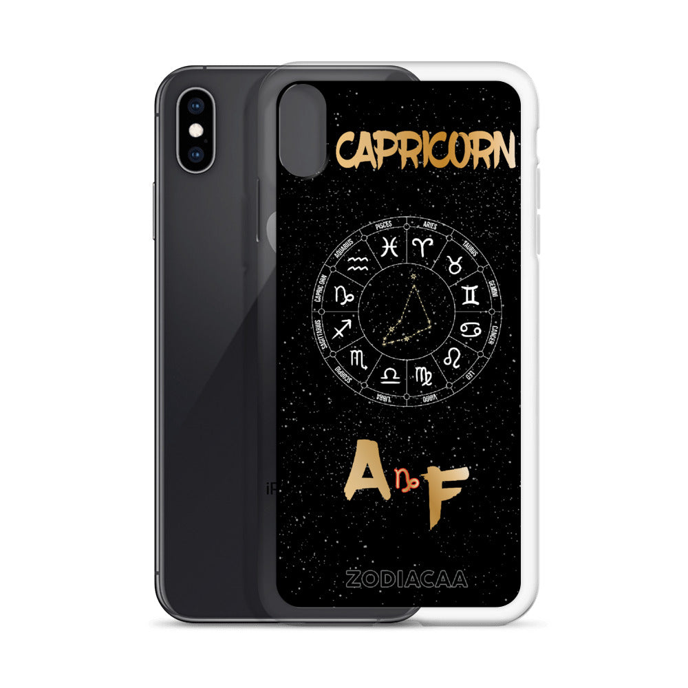 Capricorn AF iPhone X and XS Cases