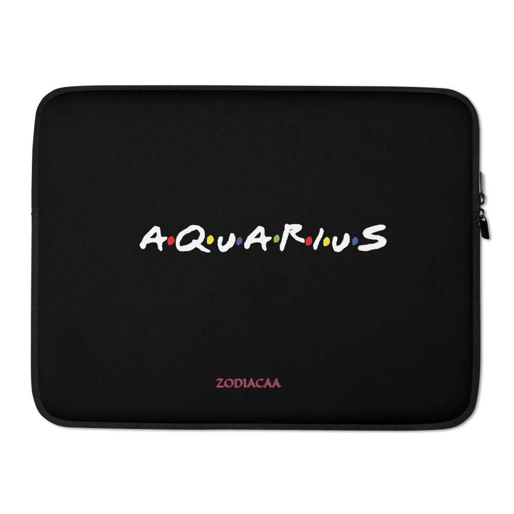 Aquarius Friends Laptop Sleeves