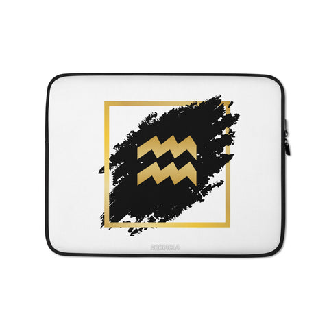 Aquarius logo Laptop Sleeves