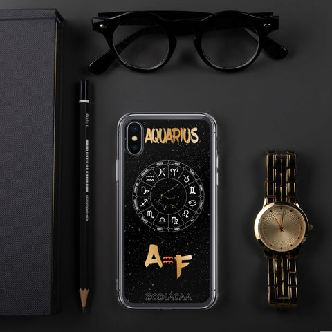 Aquarius AF iPhone X and XS Cases - ZODIACAA