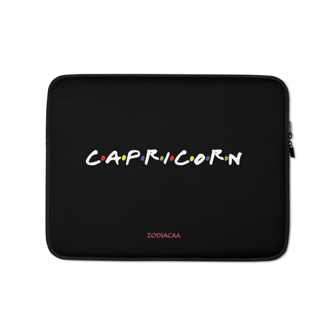 Capricorn Friends Laptop Sleeves